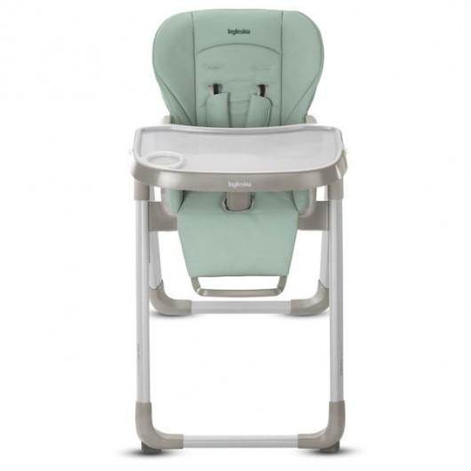 chaise haute bébé inglesina dossier bleu