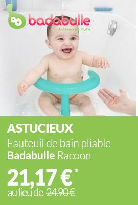 Fauteuil de bain pliable Badabulle Racoon