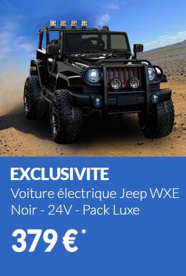https://www.cabriole-bebe.com/voiture-electrique/29927-voiture-electrique-2-places-24v-jeep-wxe-noir-pack-luxe-3760260635714.html