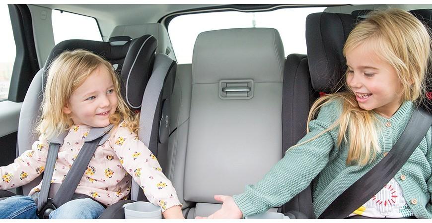 Zoom sur les groupes de sièges auto