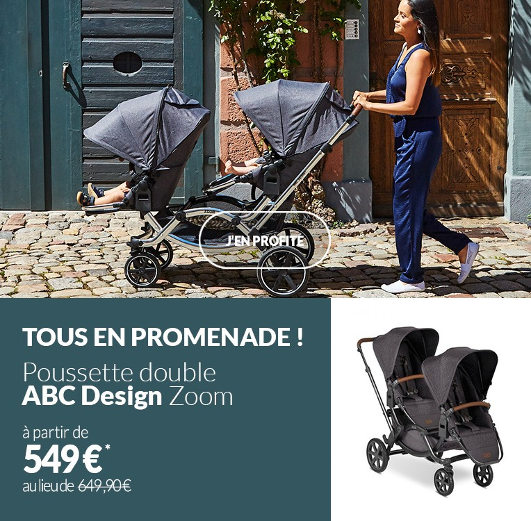 Poussette double ABC Design Zoom