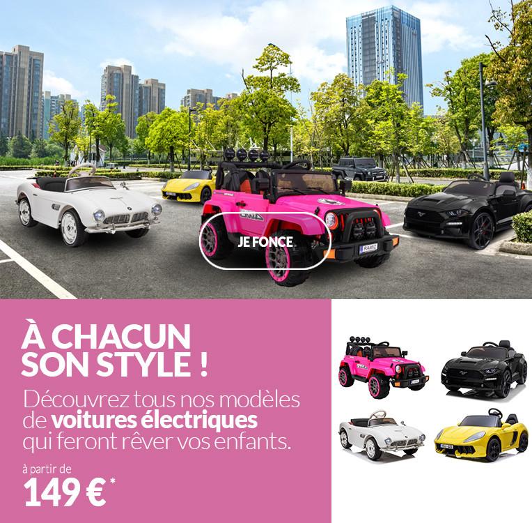 Sélection de voitures électriques pour enfant