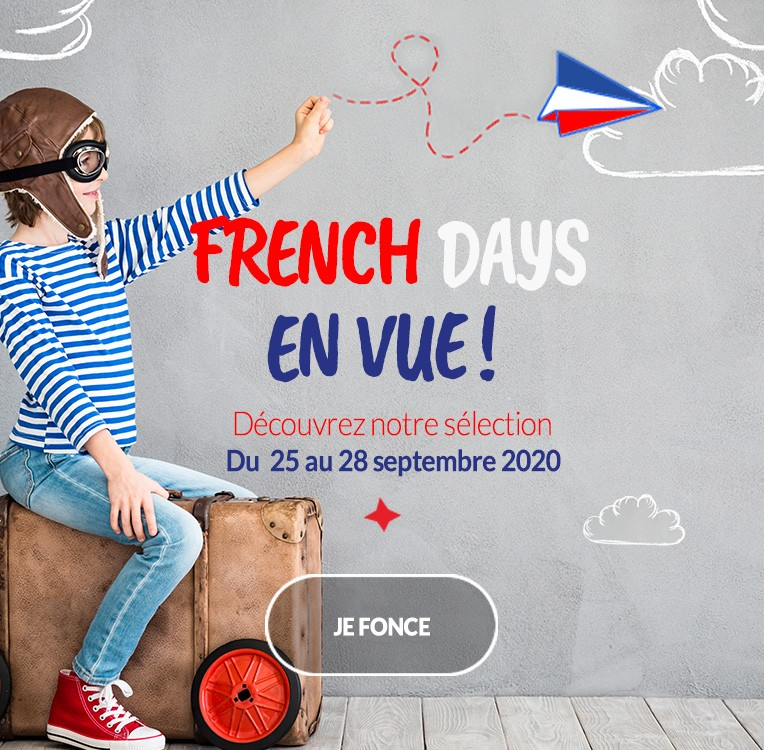 FRENCH DAYS SUR CABRIOLE