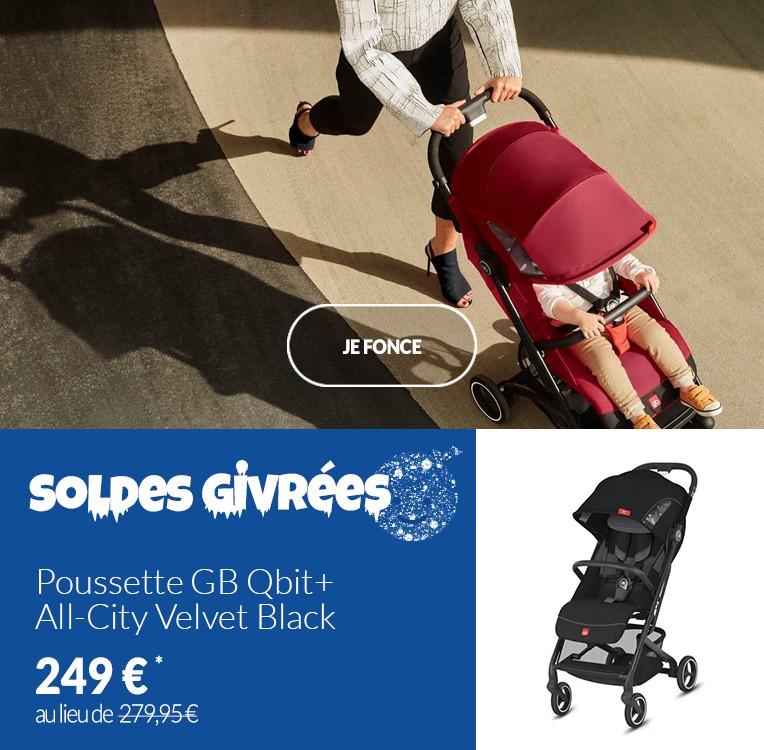Poussette GB Qbit+ All-City