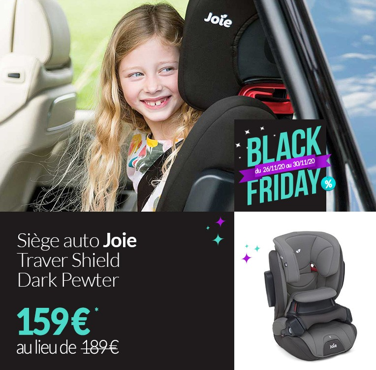 BLACK FRIDAY Traver Shield Joie