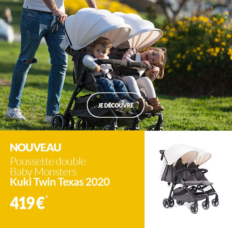 Nouveau Kuki Twin Texas de Baby Monsters